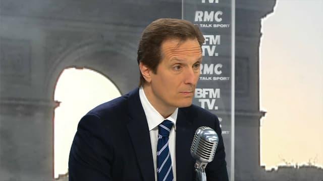 Jérôme Chartier jeudi sur BFMTV et RMC.