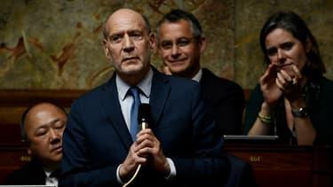 Jean-Jacques Bridey à l'Assemblée nationale le 29 mai 2018.