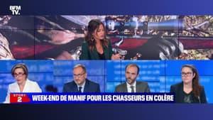 Story 6 : Le ton monte entre Emmanuel Macron et les chasseurs - 17/09