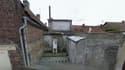 Le corps a été retrouvée dans cette maison condamnée de Courcelles-lès-Lens.