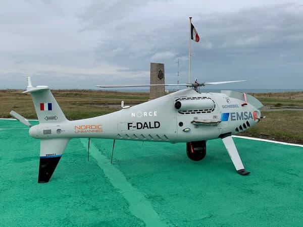 """Ces drones """"renifleurs"""" survolent le sillage des navires pour mesurer le niveau de pollution de l'air qu'ils génèrent."""