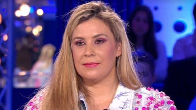 Marion Bartoli sur le plateau de On n'est pas couché