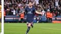 Lionel Messi célèbre un but avec le PSG