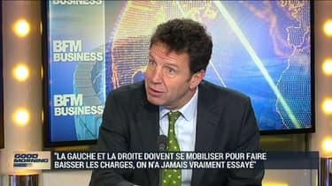 Geoffroy Roux de Bézieux était l'invité de BFM Business.