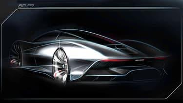 L'hypercar au nom de code BP23 sera la McLaren la plus aérodynamique de l'histoire, promet la marque.