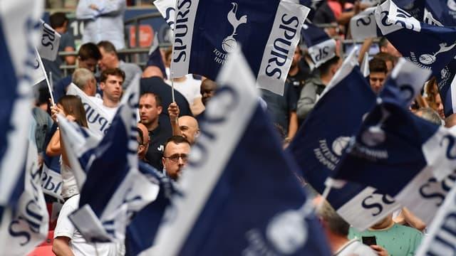 Des supporters de Tottenham