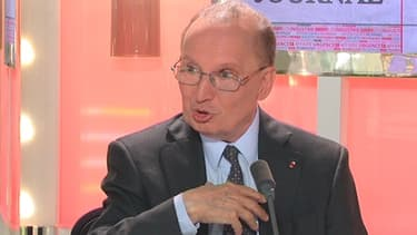 Raymond Soubie, l'ancien conseiller social de Nicolas Sarkozy, était l'invité de BFM Business, lundi 13 mai.