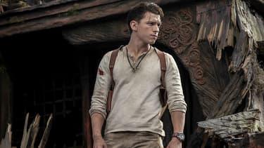 "Tom Holland dans le film ""Uncharted"""