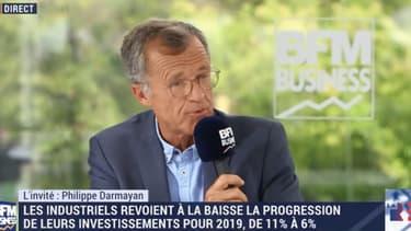 Philippe Darmayan, patron d'ArcelorMittal France