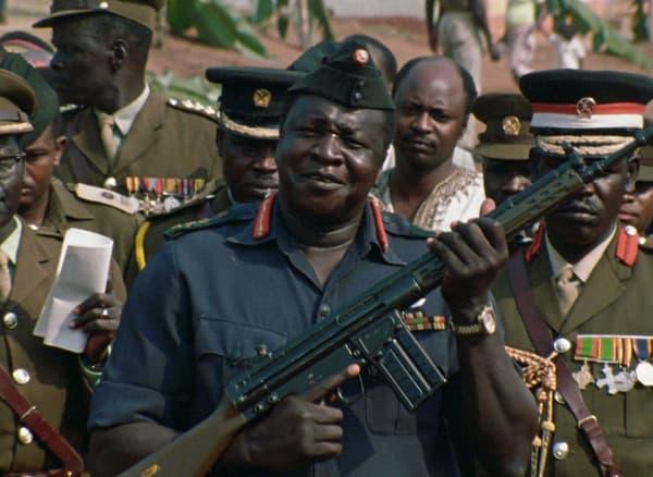 Général Idi Amin Dada, autoportrait