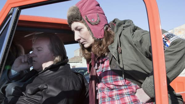 "Gérard Depardieu face à Corinne Masiero dans ""Capitaine Marleau"""