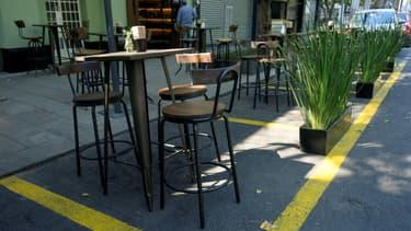 Un restaurant - Image d'illustration