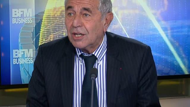 """Le président du Centre des hydrocarbures non-conventionnels, Jean-Louis Schilansky, sur le plateau de """"Good morning Business""""."""
