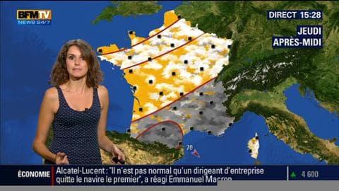 La météo pour ce jeudi 3 septembre 2015