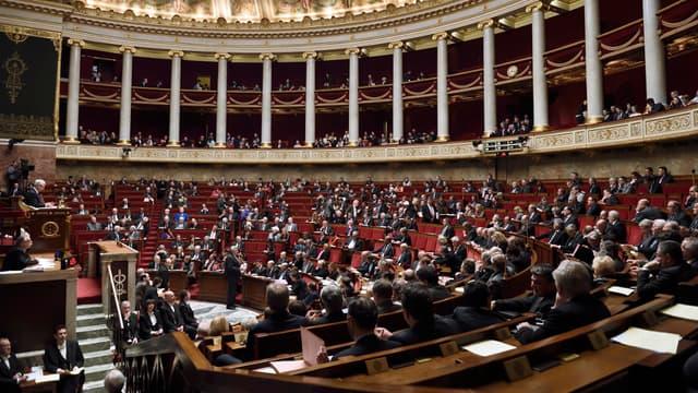 Les députés dans l'hémicycle, le 10 février 2015 (illustration).