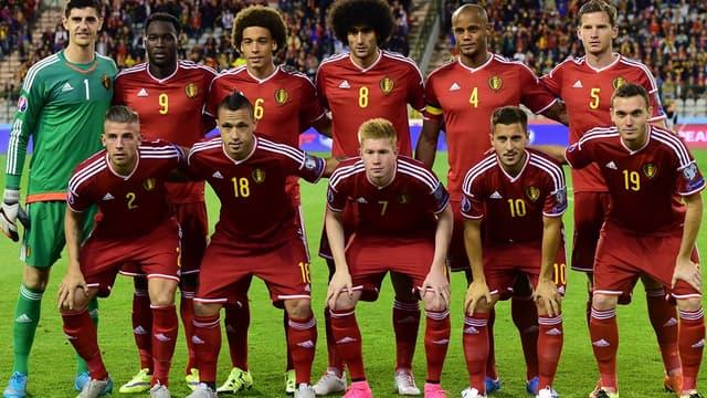 L'équipe de Belgique et son accumulation de talents