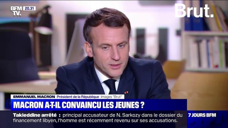 Police, discriminations, loi sécurité globale… Les principales annonces d'Emmanuel Macron sur Brut