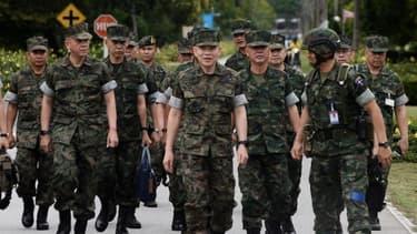 Le sergent-major de l'armée thaïlandaise été atteint du VIH. Image d'illustration.