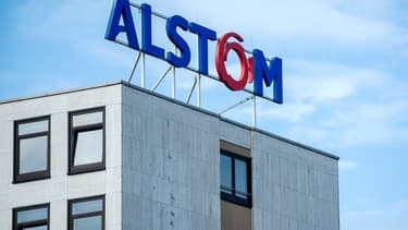 Le constructeur français Alstom est pressenti pour fabriquer les rames de métro de trois lignes du Grand Paris Express. (image d'illustration)