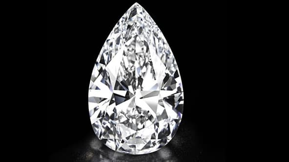 Ce diamant parfait est mis en vente par Christie's. Prix estimé: aucun, tant il est rare.