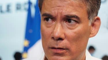 Le Premier secrétaire du Parti socialiste Olivier Faure, le 29 août 2020 à Blois