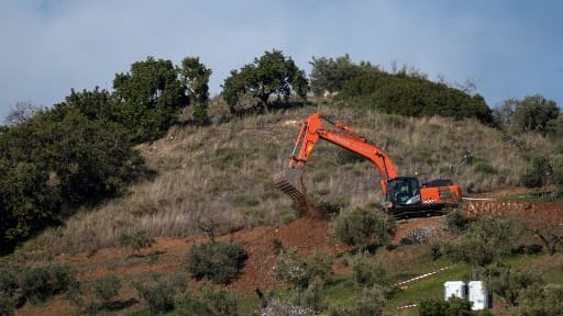 Le puits avait été creusé l'année passée par des membres de la famille du petit garçon