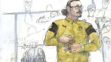 Jawad Bendaoud est jugé pour recel de malfaiteurs terroristes.