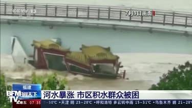 D'importantes inondations ravagent le sud de la Chine