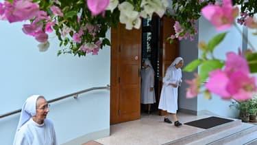 Un couvent à Bangkok, le 13 novembre 2019 (photo d'illustration)
