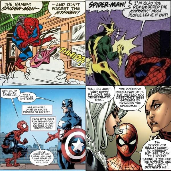 Spider-Man lutte pour qu'on respecte son trait d'union