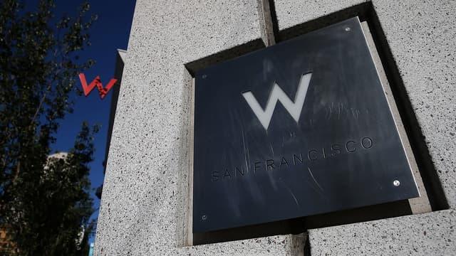 Le W, propriété de Starwood, fait partie des hôtels que Marriott veut acquérir.