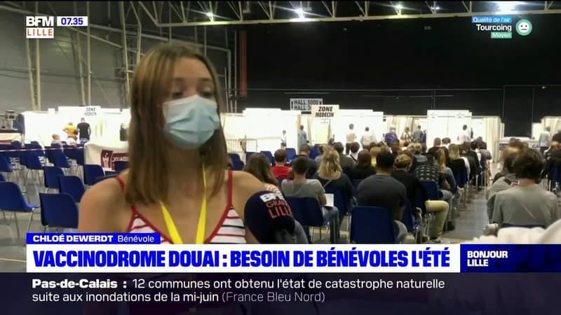 Covid-19: le vaccinodrome de Douai à la recherche de bénévoles pour cet été