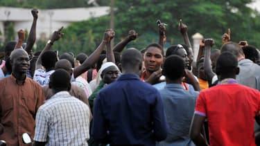 Manifestation place de la Nation à Ouagadougou le 16 septembre 2015