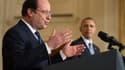 """François Hollande et Barack Obama se sont entendus sur un accord """"contraignant""""."""