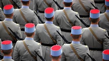 Image d'illustration - militaires pendant le défilé du 14 juillet 2020 à Paris