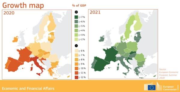 Prévisions croissance de la zone euro