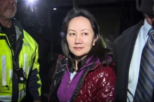 La dirigeante de Huawei Meng Wanzhou le 11 décembre 2018 à Vancouver