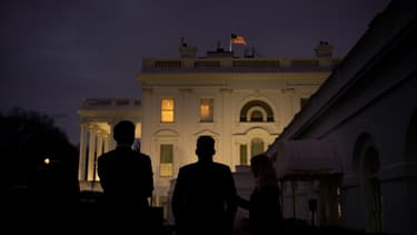 Des membres du personnel de la Maison Blanche, à Washington, le 12 novembre 2020