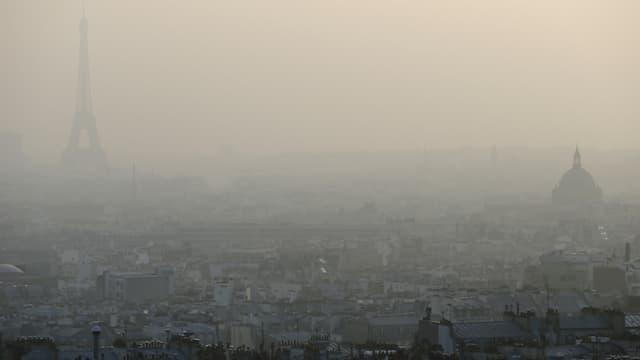 L'Organisation météorologique mondiale, qu dépend de l'ONU, a annoncé mardi que des pics record de gaz à effet de serre ont été mesurés en 2013. Photo d'illustration.