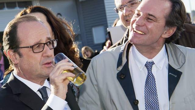François Hollande, et Renaud Muselier