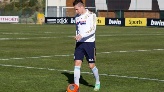 Florian Thauvin, attaquant de l'Olympique de Marseille