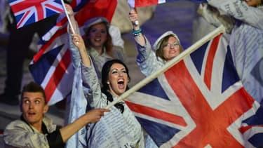La croissance britannique a été 2,6% en 2014 (image d'illustration: photo d'artistes défilant lors des jeux olympiques en 2012).