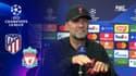Atlético – Liverpool : Klopp s'emporte contre un journaliste après une question sur Simeone