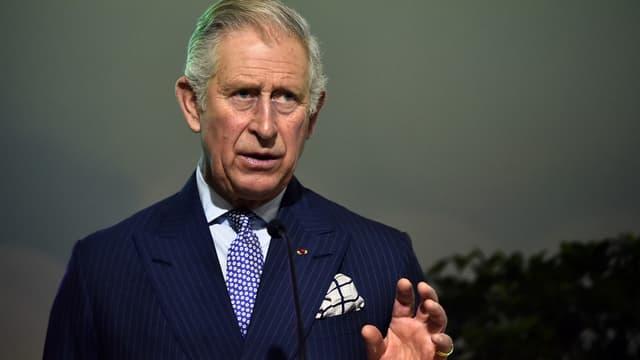 Le Prince Charles, le 1er décembre 2015