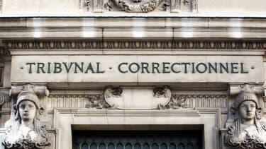 Façade du tribunal correctionnel de Paris (image d'illustration)