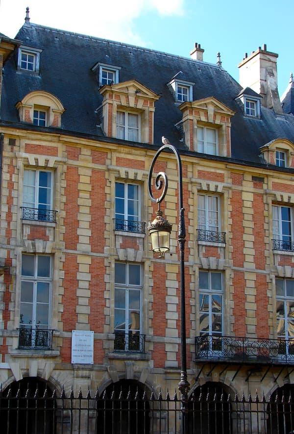Hôtel Coulanges à Paris, place des Vosges