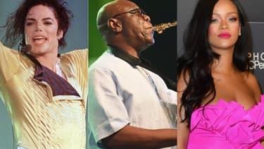 Michael Jackson, Manu Dibango et Rihanna