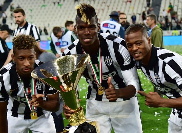 Coman, Pogba et Evra champions avec la Juve en 2015