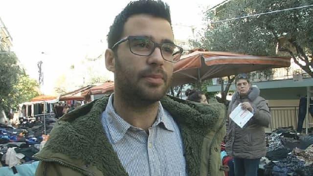A 28 ans, Théodoris Katopodis sera peut-être élu député dimanche.