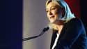 Marine Le Pen à Lens le 17 mai dernier à Lens.